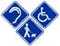 Les Voyageurs avec des handicaps