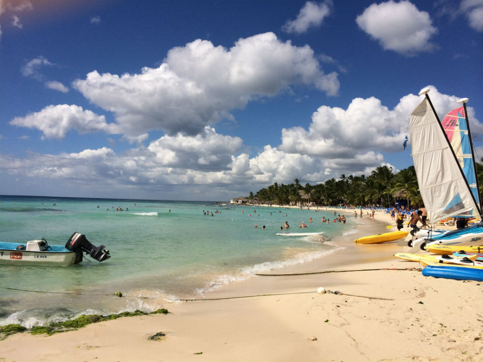 Playa Dominicus Beach Dominican Republic