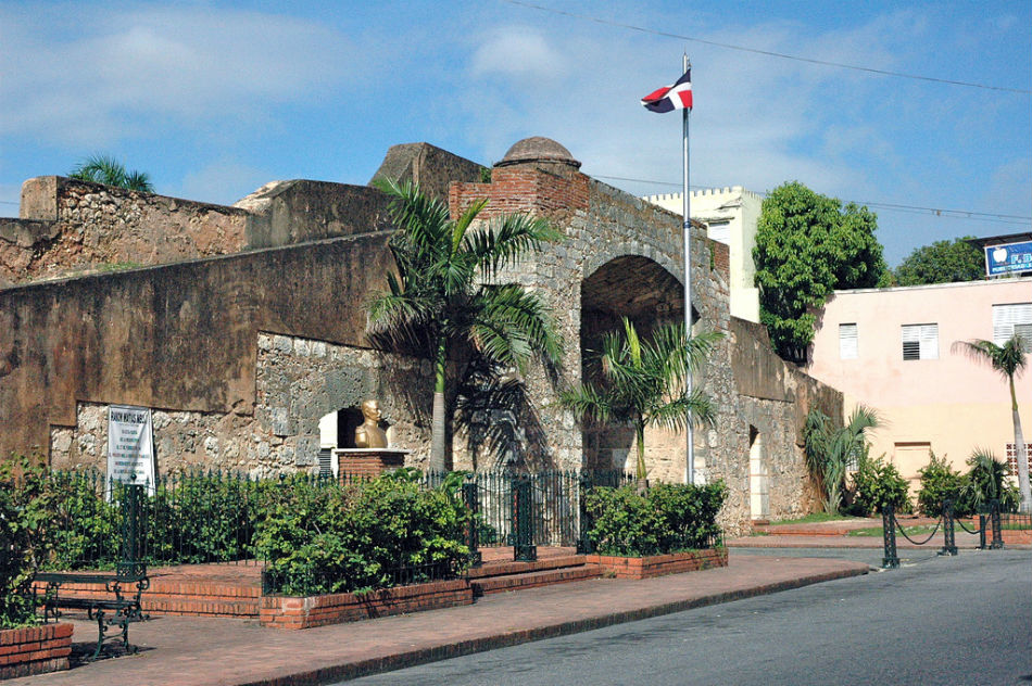 Puerta de la Misericordia Gate, Santo Domingo