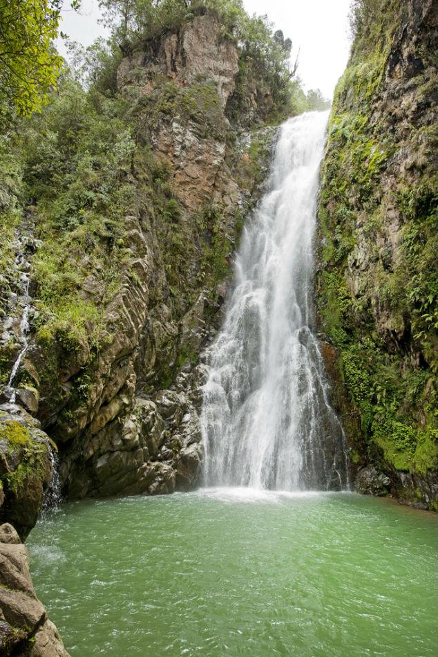 Salto Aguas Blancas Waterfall Constanza