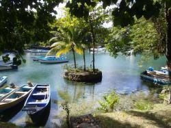 Laguna Gri-Gri, Río San Juan