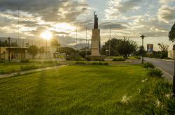 Monumento en honor a los héroes de Santomé