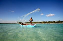 Pêche en haute mer à La Romana, République Dominicaine